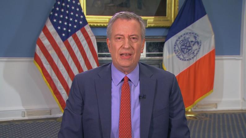 纽约市长求救:不确定我们能安全度过4月份