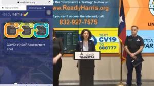 德州哈里斯郡上线新冠自我筛查系统