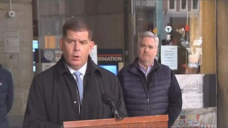波士顿市长喊话:超市供应链完好 无需恐慌囤货