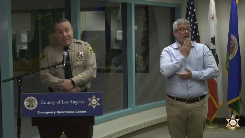 关闭枪店 释放囚犯 洛杉矶郡警察局防疫新举措