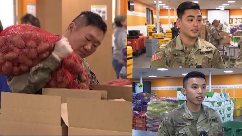 加州国民警卫队圣何塞抗疫援助:能出一份力 我很骄傲!