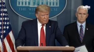 川普:今晚将和习近平通话 美国确诊超中国只因……