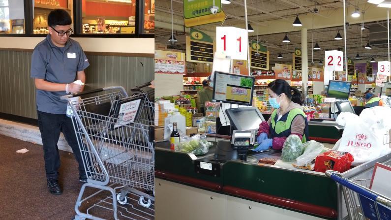【探访】居家令第二天的休斯敦 超市里这些细节有变化