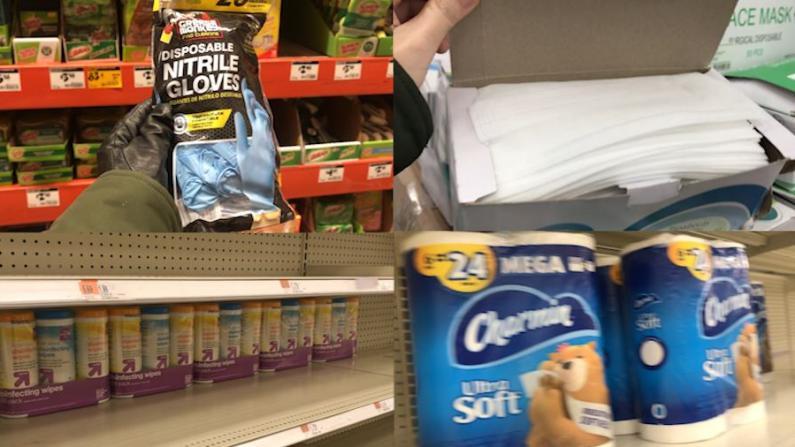 麻州超市补货探访 这个时间能买到卫生纸和消毒用品