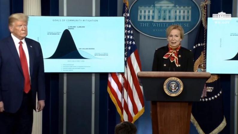 白宫专家:所有措施都做足 死亡人数仍将达10-24万