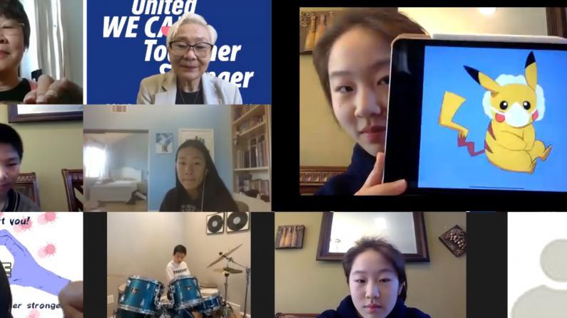 居家抗疫期间 华裔二代们都在做什么?
