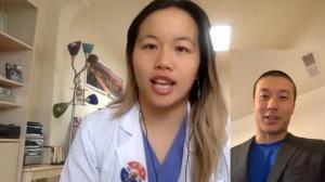 旧金山一线医护人员:疫情当下人手紧缺 我为何支持他竞选?