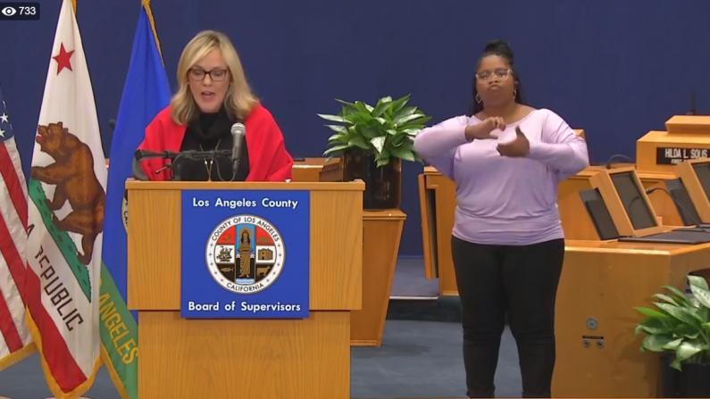 疫情高峰或本周到来 洛杉矶官方吁民众尽量网购别出门