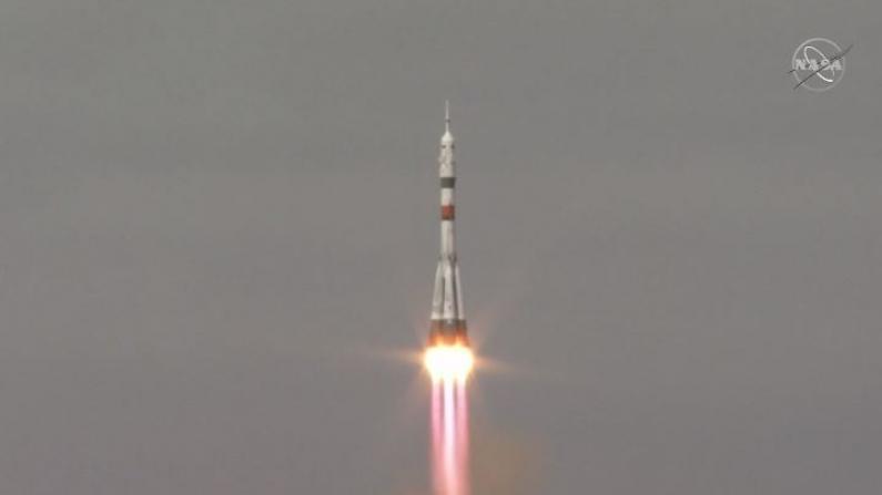 结束隔离期 美俄太空人飞往空间站