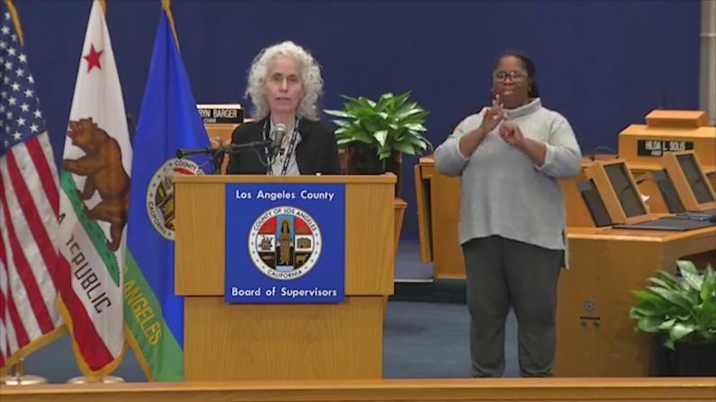 洛杉矶单日确诊数下降 卫生局提醒勿忽视婴幼儿防护
