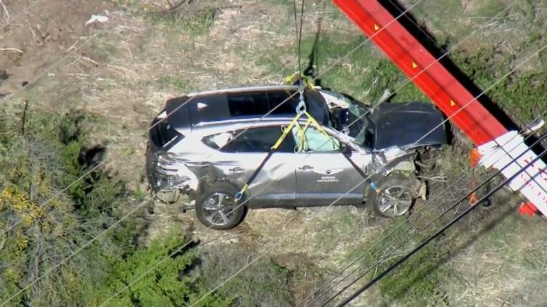 """""""老虎""""伍兹正在恢复中 救援人员详述现场细节"""