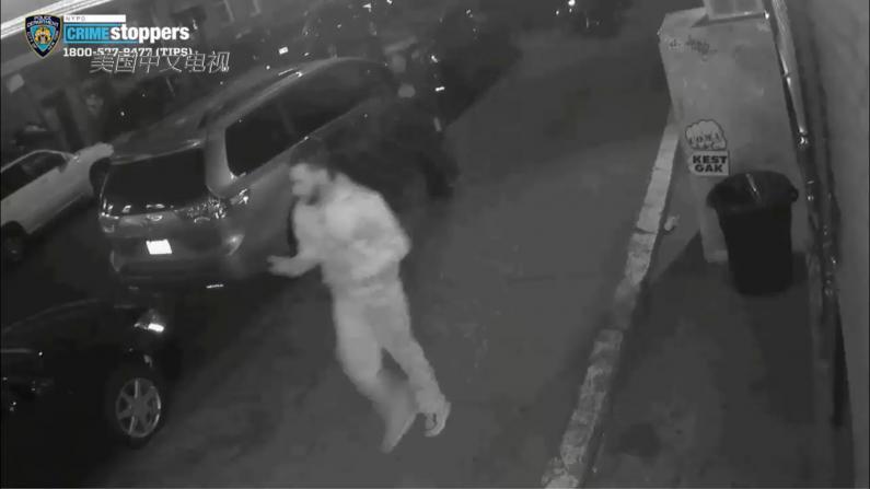 华男纽约街头遭暴力劫匪打断鼻梁 仇恨犯罪调查局已介入