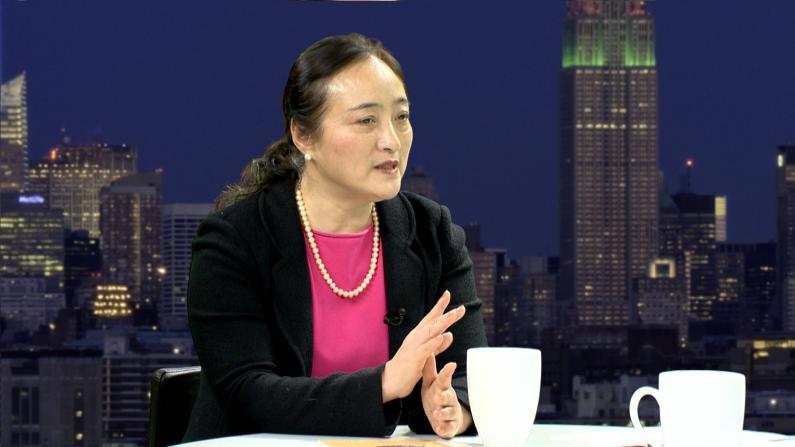 海蔚蓝:在美看见中国国宝就掉泪