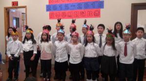 人力中心中文学校举办2015-2016秋季朗诵比赛