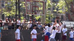 王嘉廉中心篮球赛华埠开赛 运动宣传健康生活理念