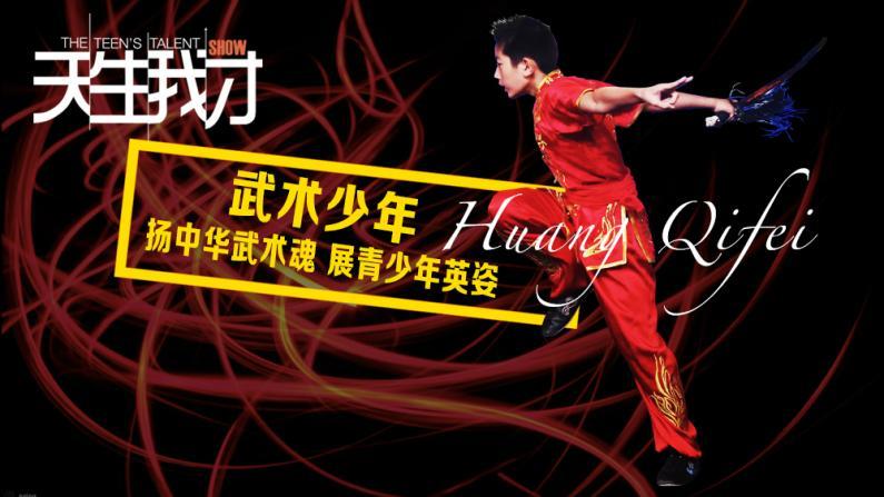 天生我才:武术少年 扬中国武术魂 展青少年英姿