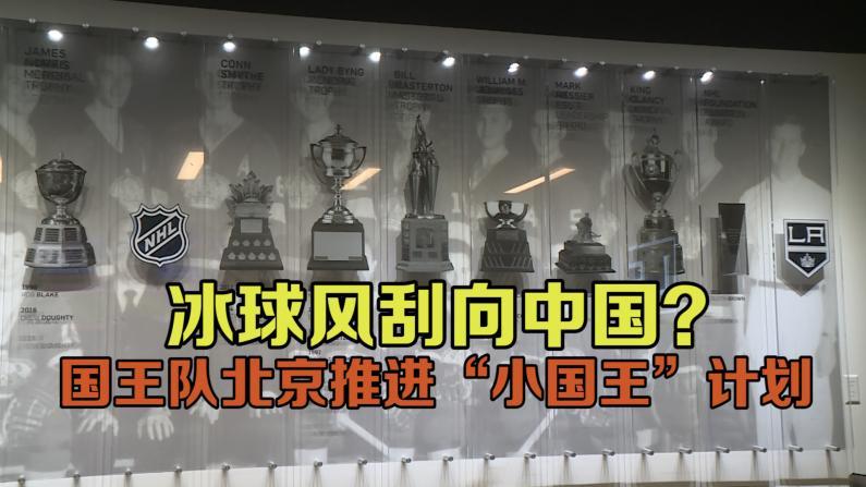 洛杉矶国王队青训营落地北京 冰球联盟瞄准中国市场
