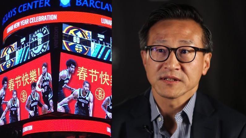 创NBA记录! $99亿身家蔡崇信$23.5亿收购篮网