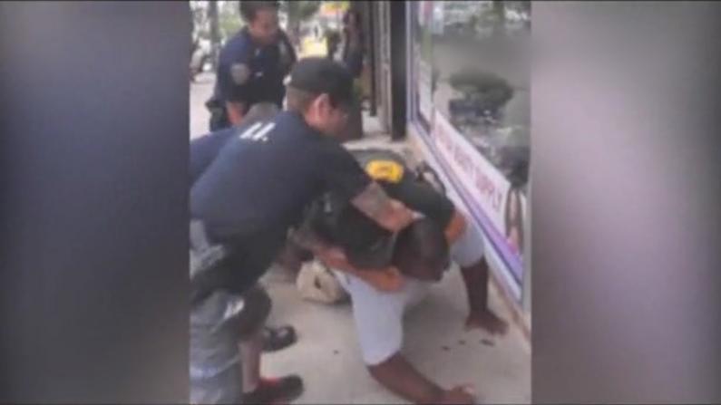 锁喉案涉案警员被纽约市警开除