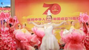 中国驻洛杉矶总领馆举办国庆招待会