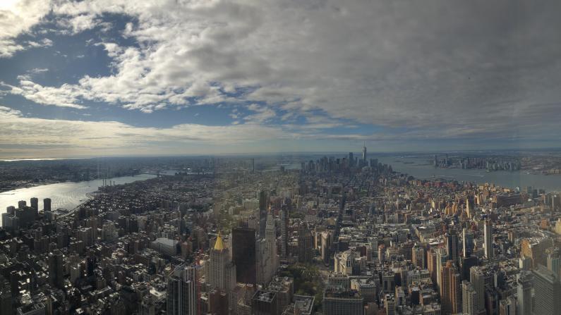 【Vlog恐高慎入】纽约帝国大厦102层和86层景观差太大了!