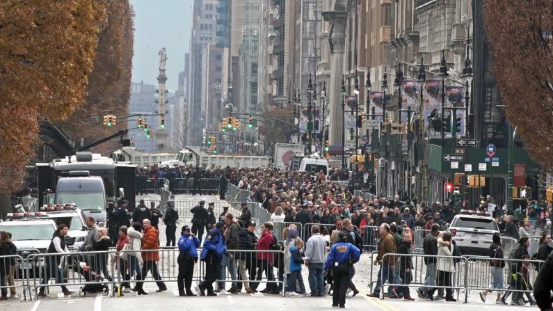 FBI和NYPD:我们有这些措施保障梅西游行安全