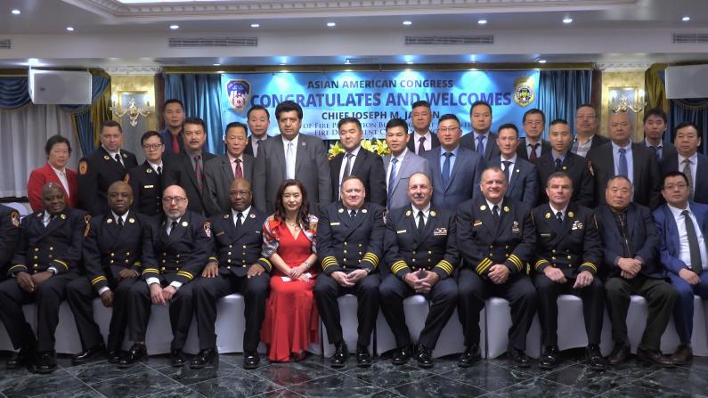 提升商家消防安全意识 纽约亚美协会与市消防局共办晚宴