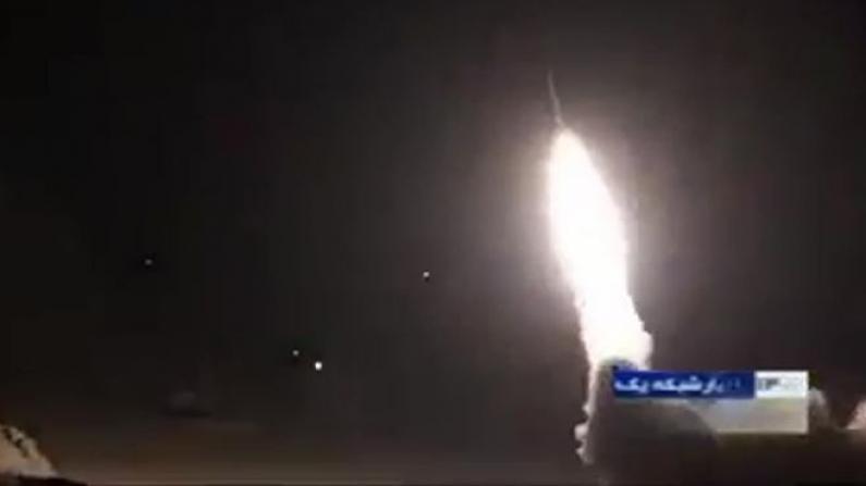 伊朗发射导弹 袭击两个美军驻伊拉克基地