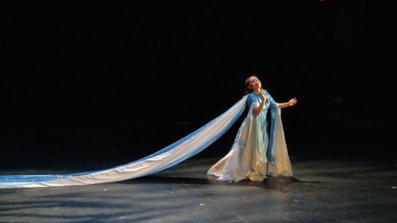 华裔舞蹈家纽约上演《冰山·探险》 阿拉斯加冰山奇遇被她搬进剧场