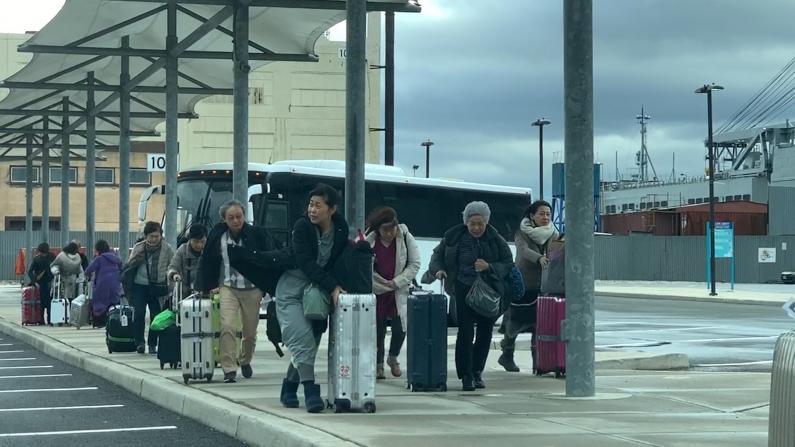"""新泽西游轮""""新冠""""疑似排除 航程推迟全船消毒"""