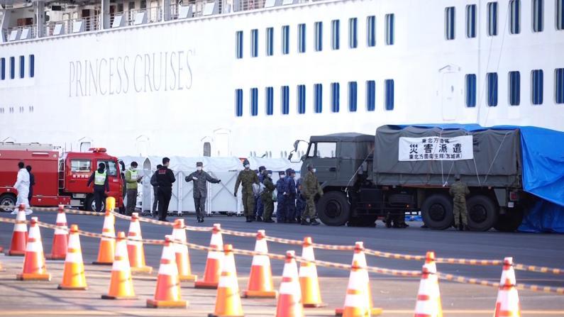 """日本""""钻石公主""""号感染人数达135 包含23名美国乘客"""