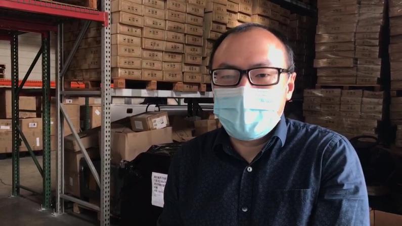 湾区华人讲述捐助历程:物资优先捐医生 武汉家人往后排