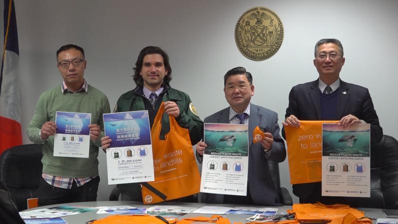 纽约州塑料袋禁令将有宽限期 期限过后最高罚款250元