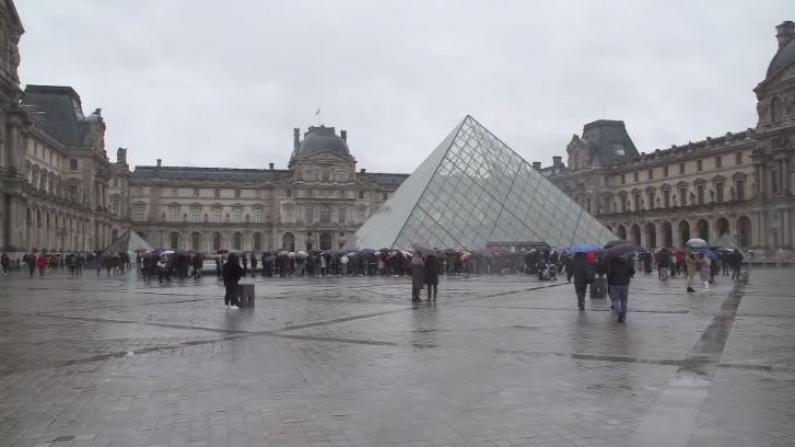 受疫情影响 卢浮宫闭门谢客