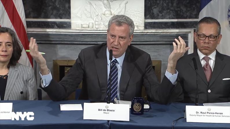 纽约市长:第2例确诊患者曼哈顿工作 1子市内读大学有症状