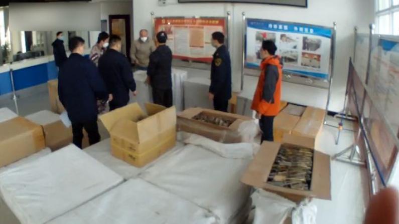 中国海关总署破获走私野生动物制品大案 查扣制品20.3吨