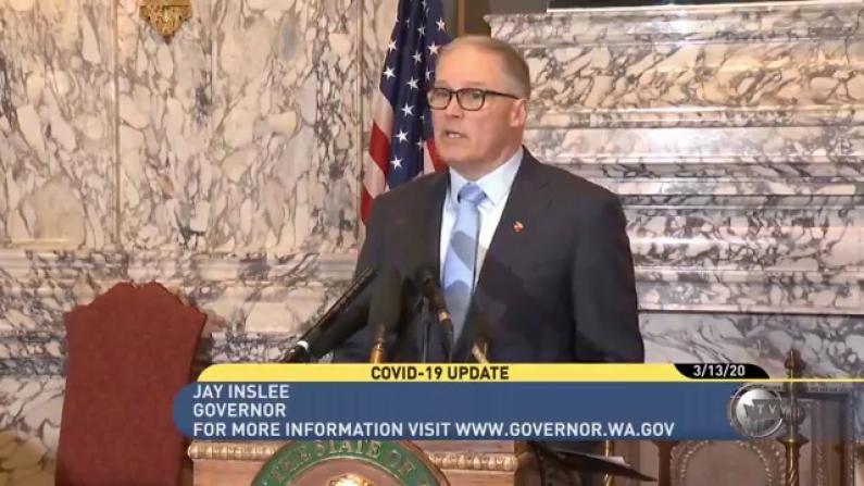 华盛顿州长:总统宣布国家紧急状态 对我们帮助很大