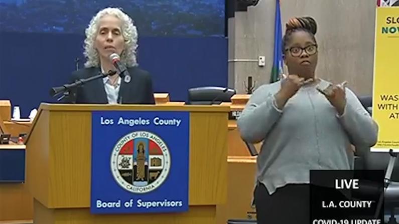 """""""不要挤在超市里!"""" 洛杉矶总确诊人数激增至144人"""