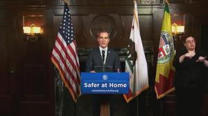 洛杉矶市长贾西提感谢上海、广州援助
