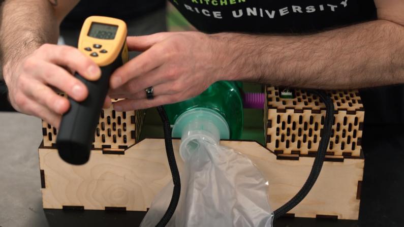 莱斯大学开发平价呼吸机 价格不到$300