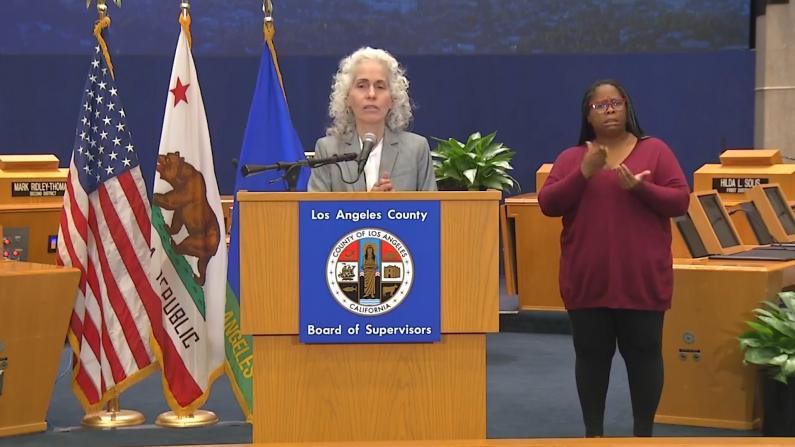 洛杉矶病毒致死率提高 卫生部门鼓励民众自制口罩