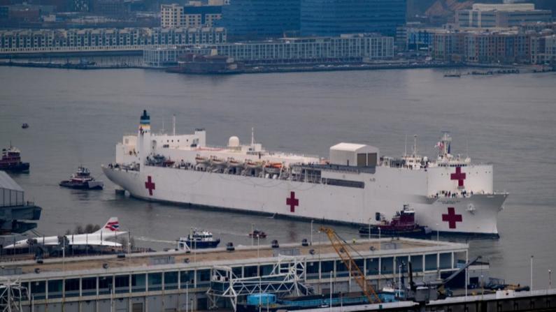 埃斯珀:医疗舰是美国应对新冠病毒疫情最后选择