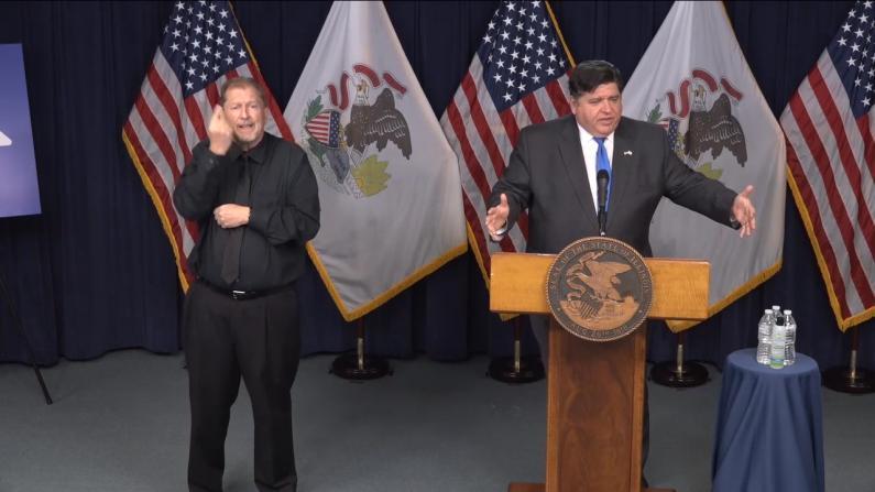 """""""我戴口罩出门"""" 伊州长:没有的,可以自制"""
