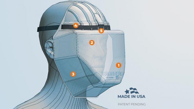夏威夷医生自制面罩供抗疫前线 普通民众也可获得