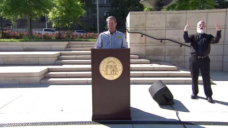 乔治亚州长:已准备好重开 亚特兰大市长:你确定?