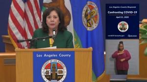 死亡病例占全州近半数 洛杉矶呼吁民众继续遵守居家令