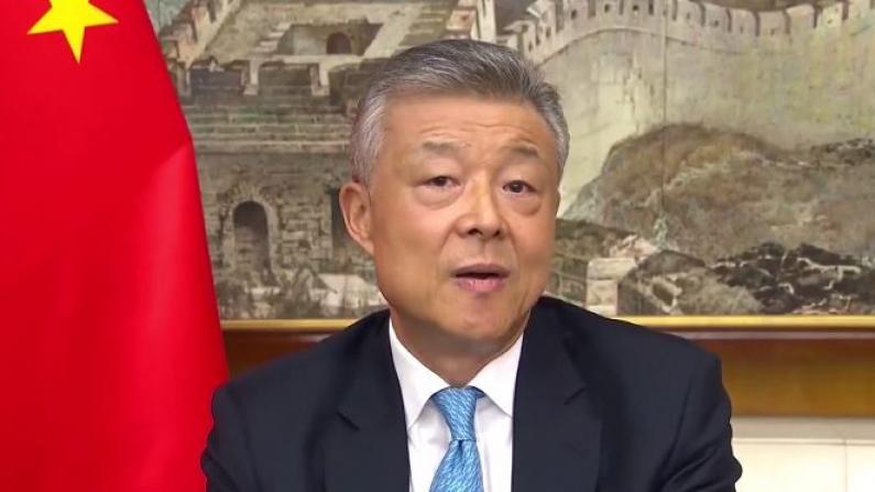 中国驻英大使刘晓明:中国是美国的朋友、伙伴