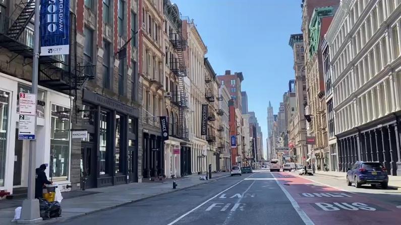 纽约市再封100英里公园及周边街道 以保证行人社交距离