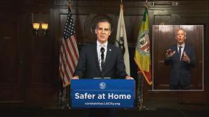 """关键时刻""""遵守居家令"""" 洛杉矶市府敦促再坚持"""