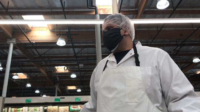 【探访】超市肉类遭秒抢? 一探洛杉矶超市现状